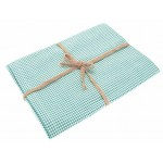 Mini Gingham  Ocean tablecloth